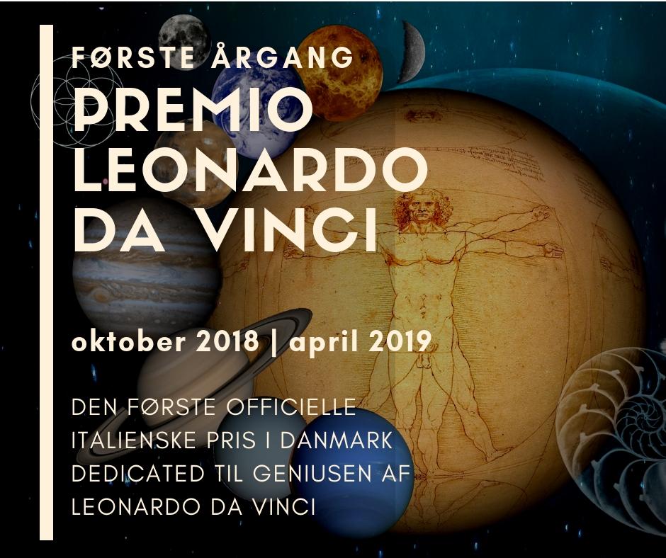PREMIO LEONARDO DA VINCI første årgang 2018-2019