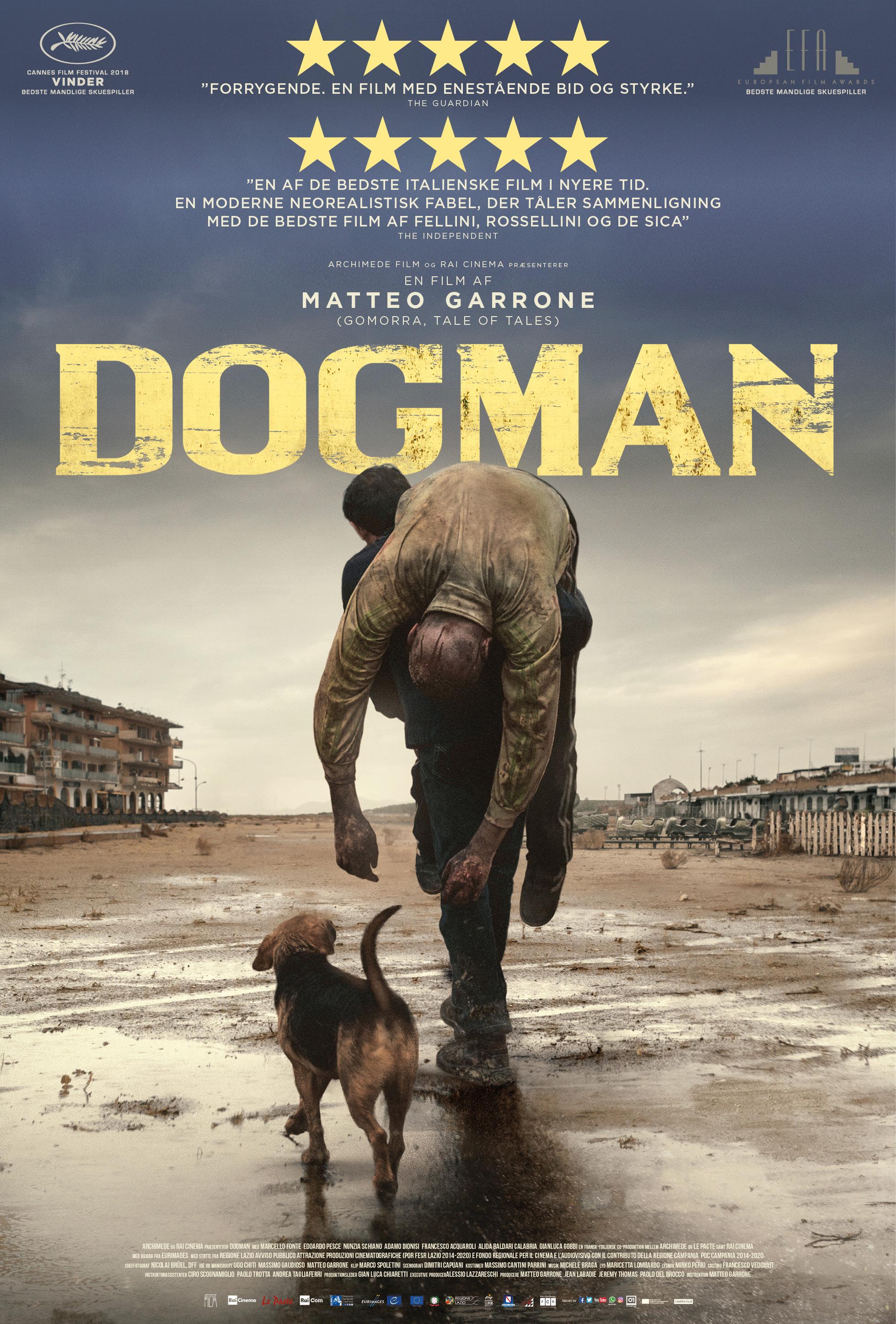 CAMERA FILM presenta DOGMAN di MATTEO GARRONE