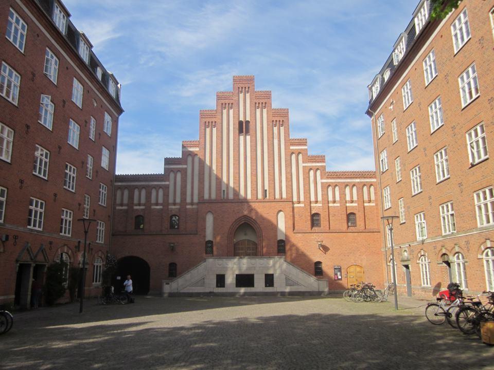 Koncertkirken, Blågårdsplads